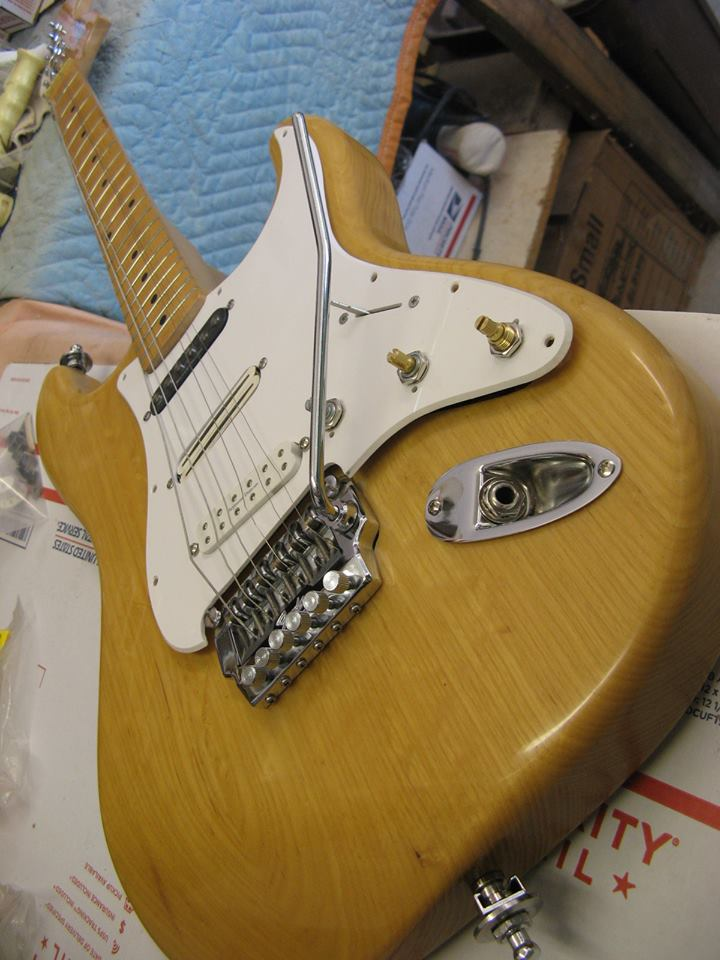 Blondie Telecaster with white pickguard