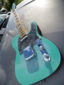 Green Blue Burst 52 RI Telecaster full guitar